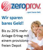 zeroprov - provisionsfreie Versicherungen und Geldanlagen